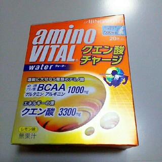 アジノモト(味の素)のアミノバイタル クエン酸チャージウォーター20本入(アミノ酸)
