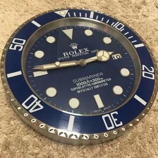 未使用 ロレックス サブマリーナ 掛け時計   (掛時計/柱時計)