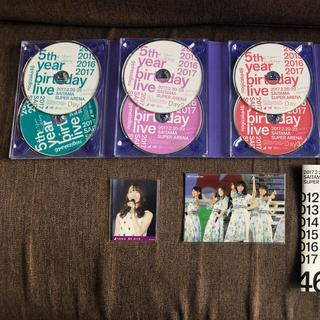 ノギザカフォーティーシックス(乃木坂46)の乃木坂46 5th YEAR BIRTHDAY LIVE DVD 7枚組(ミュージック)