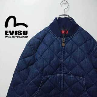エビス(EVISU)のEVISU エヴィス yamane デニムジャケット 中綿 袖ロゴ 344(ダウンジャケット)