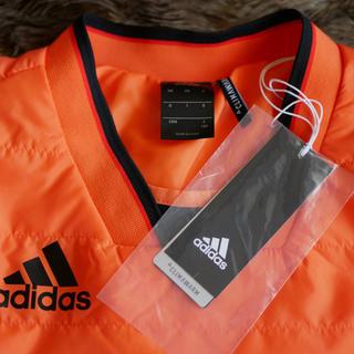 アディダス(adidas)の《タグ付未使用品》adidas RENGI 中綿ウォーマートップ ジュニア160(ウェア)