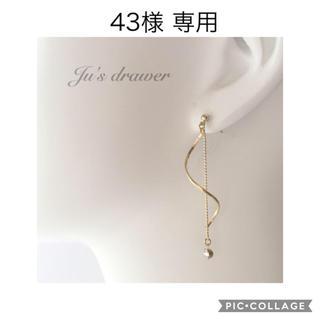 43様 専用ページ(ピアス)