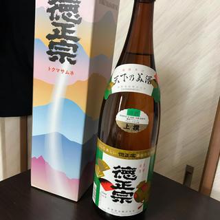 新品未開封 徳正宗 トクマサムネ 上撰 日本酒 1800ml(日本酒)