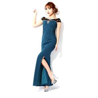デイジーストア(dazzy store)のdazzy store デイジーストア キャバ ドレス ロング スリット(ナイトドレス)