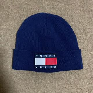 トミーヒルフィガー(TOMMY HILFIGER)のtommy jeans ニット帽(ニット帽/ビーニー)