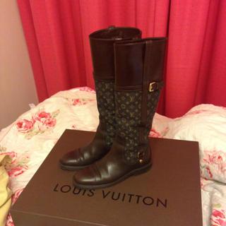 ルイヴィトン(LOUIS VUITTON)のルイヴィトンのレアブーツ♡(ブーツ)