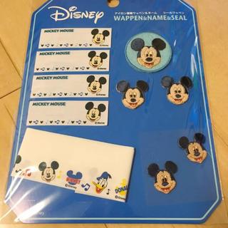 ディズニー(Disney)のミッキーマウス ワッペンセット(各種パーツ)