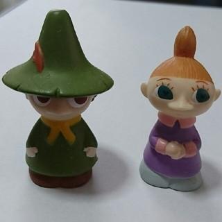 ムーミンキャラ 指人形 スナフキン&ミムラ