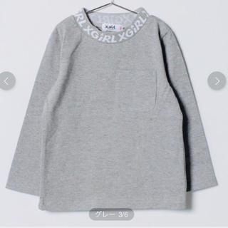 エックスガールステージス(X-girl Stages)の新品同様  エックスガール ロゴ ロンT(Tシャツ/カットソー)
