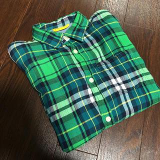 ギャップ(GAP)のGAPチェックシャツ(カーディガン)