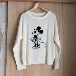 ディズニー(Disney)のミニーちゃん ニット(ニット/セーター)