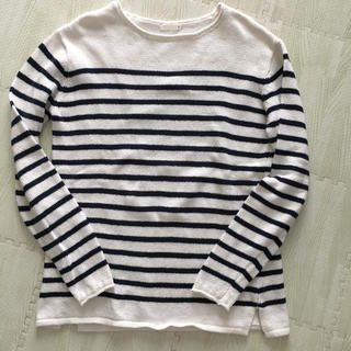 ジーユー(GU)のボーダーロンT GU(Tシャツ/カットソー(七分/長袖))
