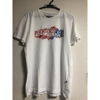 ナパピリ(NAPAPIJRI)のnapapijri ナパピリ プリントTシャツ(Tシャツ/カットソー(半袖/袖なし))