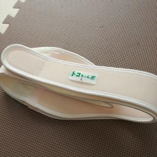 おお様専用 腹巻付美品☆トコちゃんベルト2 L 白色(マタニティウェア)