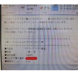 ムビチケ アリー スター誕生(洋画)
