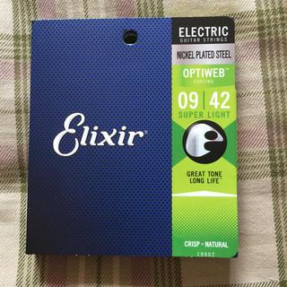 Elixir optiweb 009-042 エレキ弦(弦)
