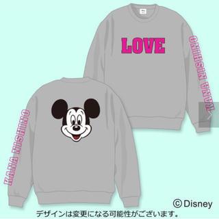 ディズニー(Disney)の西野カナ コラボ商品/Disney スウェット グレー(トレーナー/スウェット)