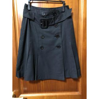 ジャイロ(JAYRO)のスカート トレンチスカート ブラック(ひざ丈スカート)
