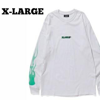 エクストララージ(XLARGE)のお早めに!X-LARGE ロングスリーブTシャツ ロンT 長袖カットソー(Tシャツ/カットソー(七分/長袖))