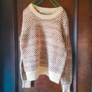 ドットアンドストライプスチャイルドウーマン(Dot&Stripes CHILDWOMAN)のドットセーター(ニット/セーター)