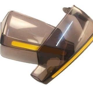 頑丈! オートバイ 防風 大型 ハンドガード 汎用品 透明(その他)