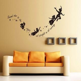 ピーターパン ウォールシール 壁用 ステッカー ディズニー