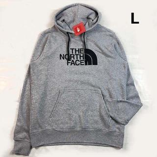 THE NORTH FACE - ノースフェイス ハーフドームロゴ プルオーバーパーカー(L)薄 灰 181130