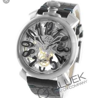 ガガミラノ(GaGa MILANO)のガガミラノ 48mm 大人気 スケルトン(腕時計(アナログ))