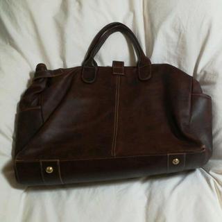 オロビアンコ(Orobianco)のオロビアンコ 革バッグ保存袋付(ボストンバッグ)