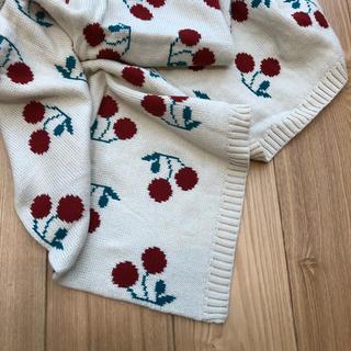 cherry blanket(おくるみ/ブランケット)