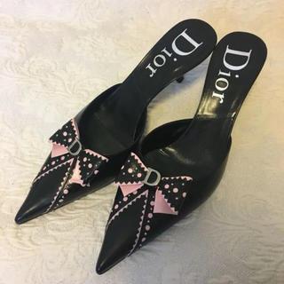 ディオール(Dior)のDior ディオール ミュール パンプス 未使用 (ハイヒール/パンプス)