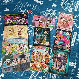 ディズニー(Disney)のDisney☆ポストカード 10枚セット(カード/レター/ラッピング)