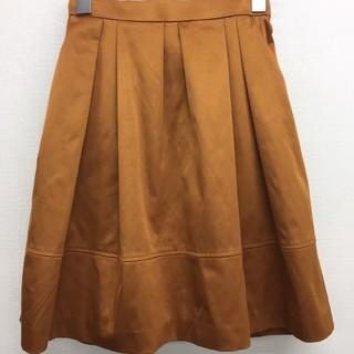 イランイラン(YLANG YLANG)のシャイニーツイル チューリップフレアスカート(ミニスカート)