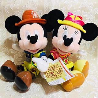 Disney - レア★新品タグ付★廃盤品★ミキミニペアトレイルぬいぐるみ