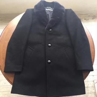 シュプリーム(Supreme)の15aw supreme fur collar tweed coat(その他)