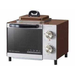 即買いOK★コイズミ 目玉焼き機能付きオーブントースター ブラウン(調理機器)