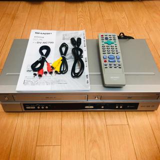 SHARP ビデオ一体型DVDプレイヤー DV-NC700(DVDプレーヤー)