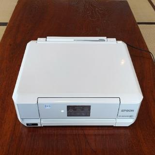 【送料込み】EPSON  インクジェットプリンター(EP-806AW)*美品(オフィス用品一般)