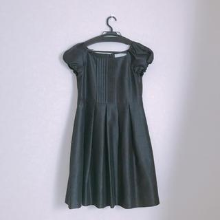 クチュールブローチ(Couture Brooch)のフォーマル 黒 ワンピース ◎美品(ひざ丈ワンピース)