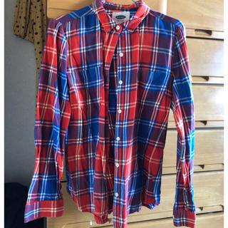 オールドネイビー(Old Navy)のOLD NAVY カラーチェックシャツ(シャツ/ブラウス(長袖/七分))