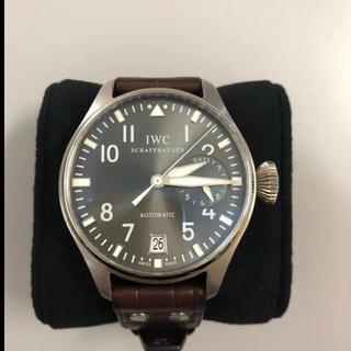 インターナショナルウォッチカンパニー(IWC)のIWC ビッグパイロット腕時計【美品】(腕時計(アナログ))