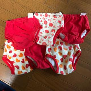 ニシマツヤ(西松屋)の女の子 西松屋 トレーニングパンツ 90(トレーニングパンツ)
