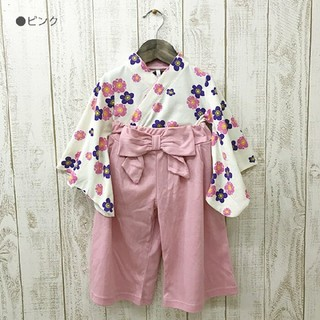 【新品☆】 袴 セットアップ 90(和服/着物)