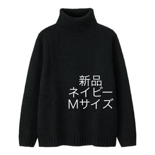 GU - GU ローゲージ タートルネックセーター
