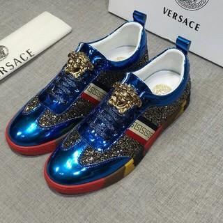 VERSACE - 41CM VERSACE  ヴェルサーチ スニーカー   メンズ 靴