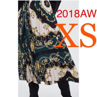 ザラ(ZARA)の*2018AW*ZARA スカーフ柄 プリーツスカート(ロングスカート)