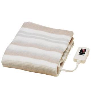 △送料無料△水洗いOKの敷き毛布 電気毛布 140×80cm(電気毛布)