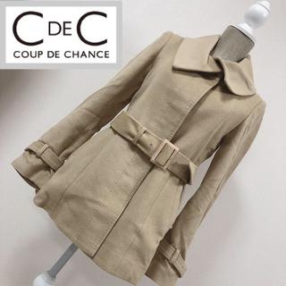 クードシャンス(COUP DE CHANCE)のクードシャンス ウールジャケット ショートコート ベージュ(ピーコート)