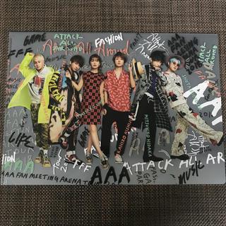AAA - AAA クリアファイル 6人