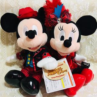 Disney - レア★新品タグ付★廃盤品★ミキミニペア ミキカンぬいぐるみ